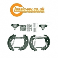 Rear Brake Shoe & Cylinder Rebuild Kit (180 mm Drum)
